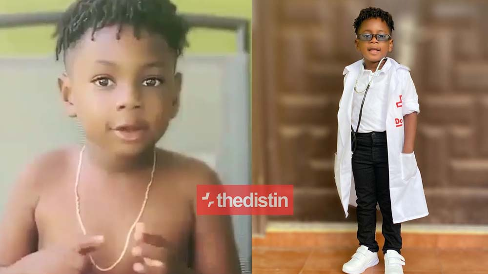 """If You Don't Get Coronavirus, Sanitize Your Hands & Keep Your Environment Clean"" - Shatta Wale's Son, Majesty To Ghanaians 