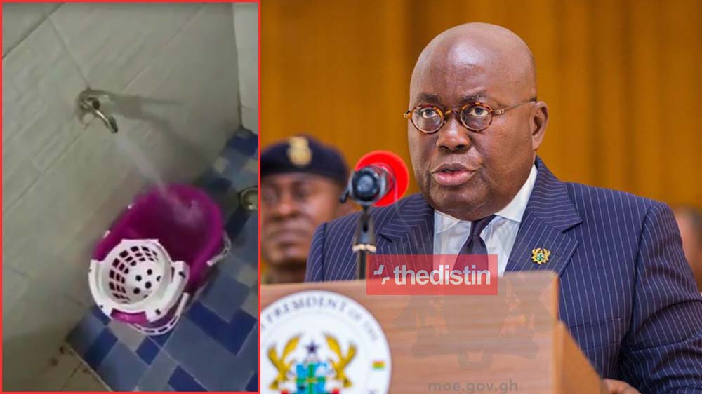 See Ghanaians Reaction After Nana Addo Dankwa Akufo-Addo Declared No Payment Of Water Bills