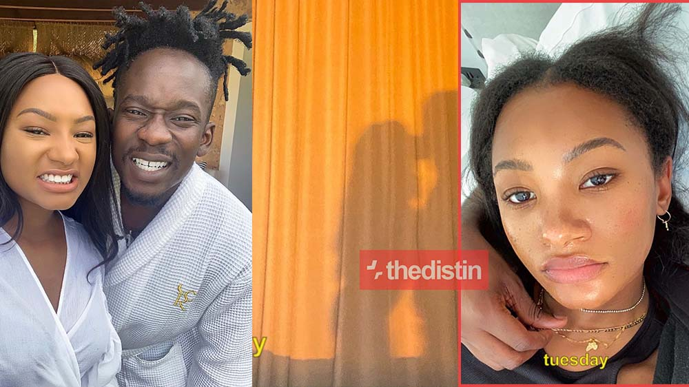 Monday To Friday: Mr. Eazy And Temi Share Their Quarantine Routine | Photos and Videos