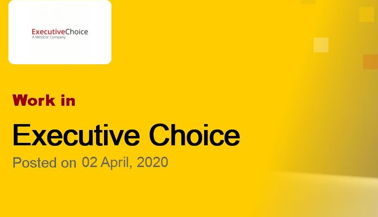 Apply: Recruitment Of Investment Manager At Executive Choice