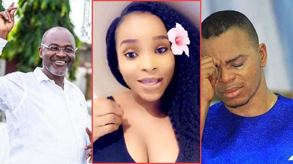 """Abuboro Kosua"" Benedicta Gafah Says After Alleged Affair With Obinim Was Exposed By Kennedy Agyapong"