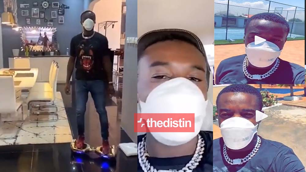 AMG Boss Criss Waddle Inside His Million Dollar Mansion Flaunts His Luxury Living Room And Cars | Video