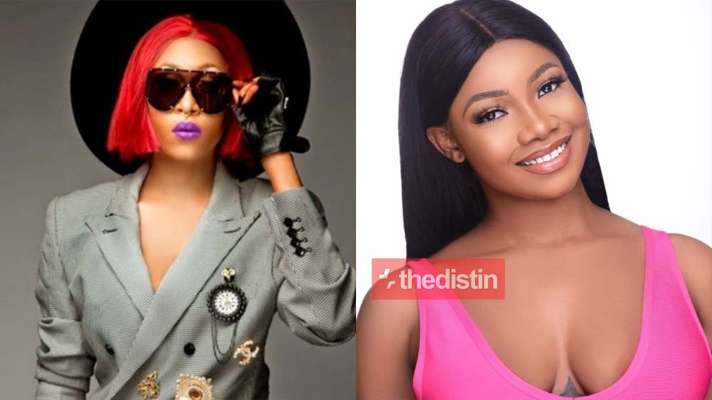 """I promise to give my support by promoting your music or new project"" Tacha Vows To Support Cynthia Morgan"