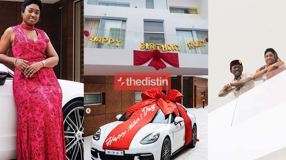 Meet Ruby Bediako: The Beautiful Wife Of Ghanaian Millionaire, Nana Kwame Bediako, As Her Husband Got Her A Brand New Car & House | Video