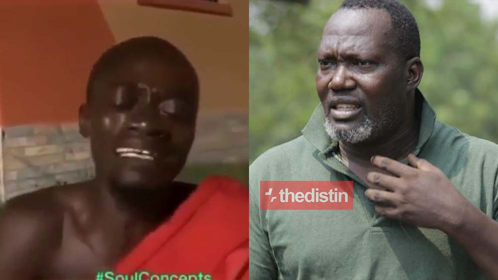 Lilwin Cries Bitterly Over Bishop Bernard Nyarko's Death In Sad Video