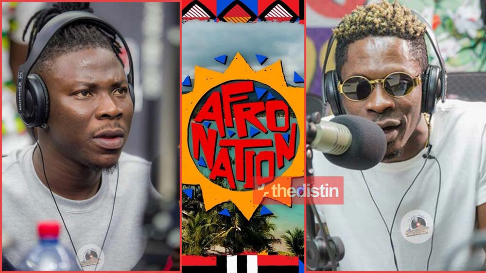 Stonebwoy Set To Perform At Afro Nation Portugal As Shatta Wale Is Missing - What Could Be The Reason?