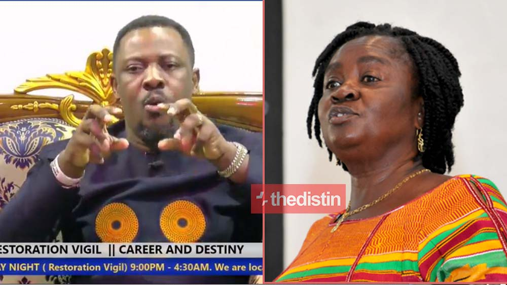 Video: Nigel Gaisie's Prophecy On First Female Vice President In 2020 (Mzbel Reacts)