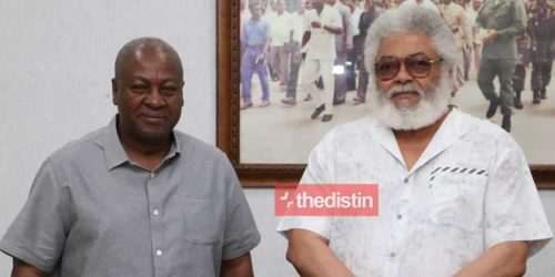 Mahama Visits JJ Rawling Ahead Of NDC Running Mate Appointment | This Is What Happened
