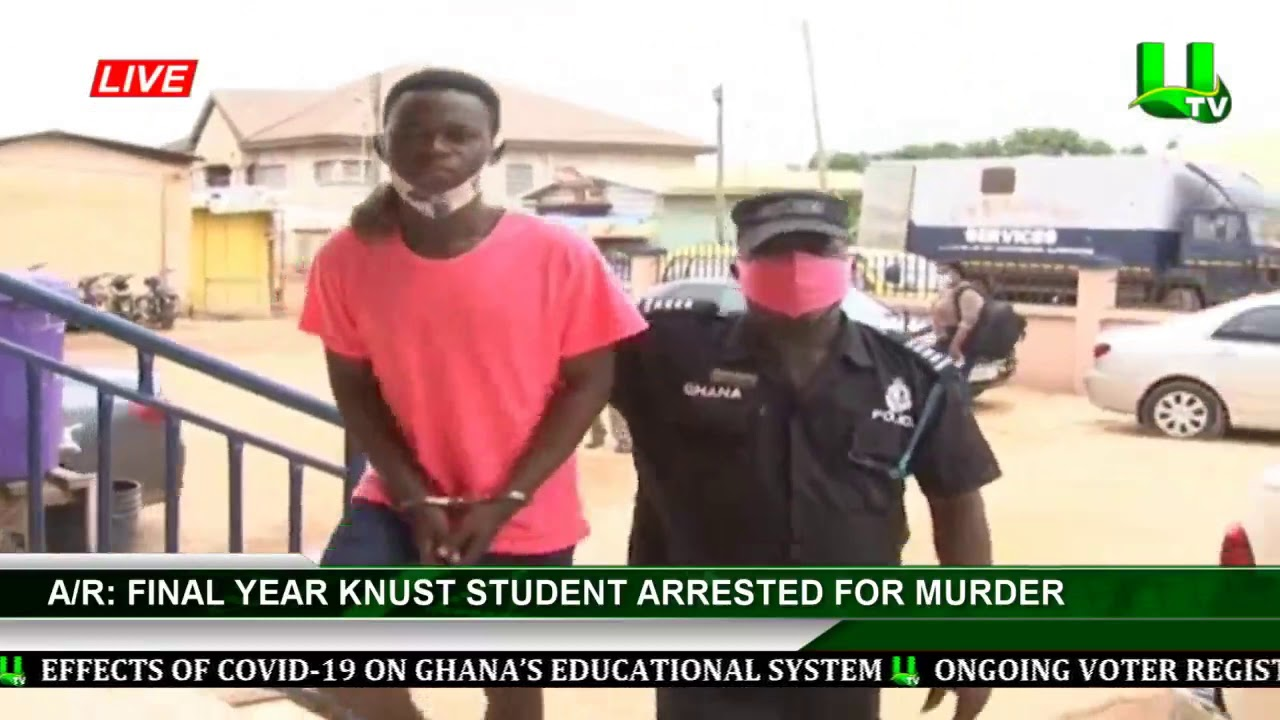KNUST Student Arrested For Murdering His Friend For Owing Him Ghc1200