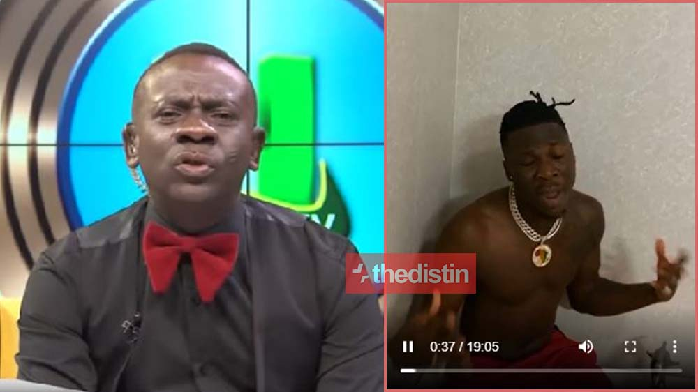 'Gibberish music' Akrobeto Disciplines Stonebwoy Over His Putuu Song On TV In Funny Video