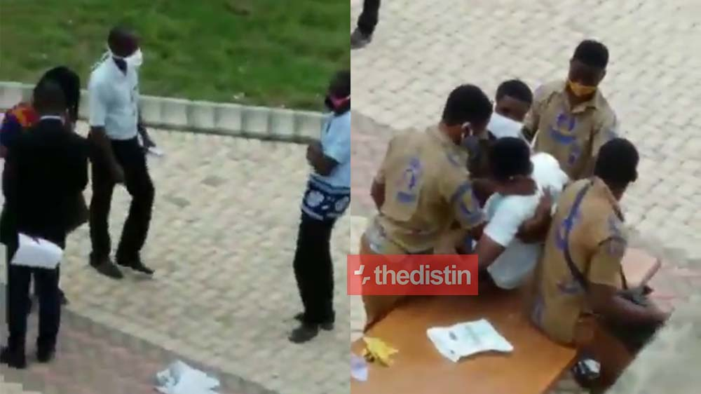 Video: KNUST SHS Teachers Watch As Student Dies Of Stomach Upset (Demonstration)