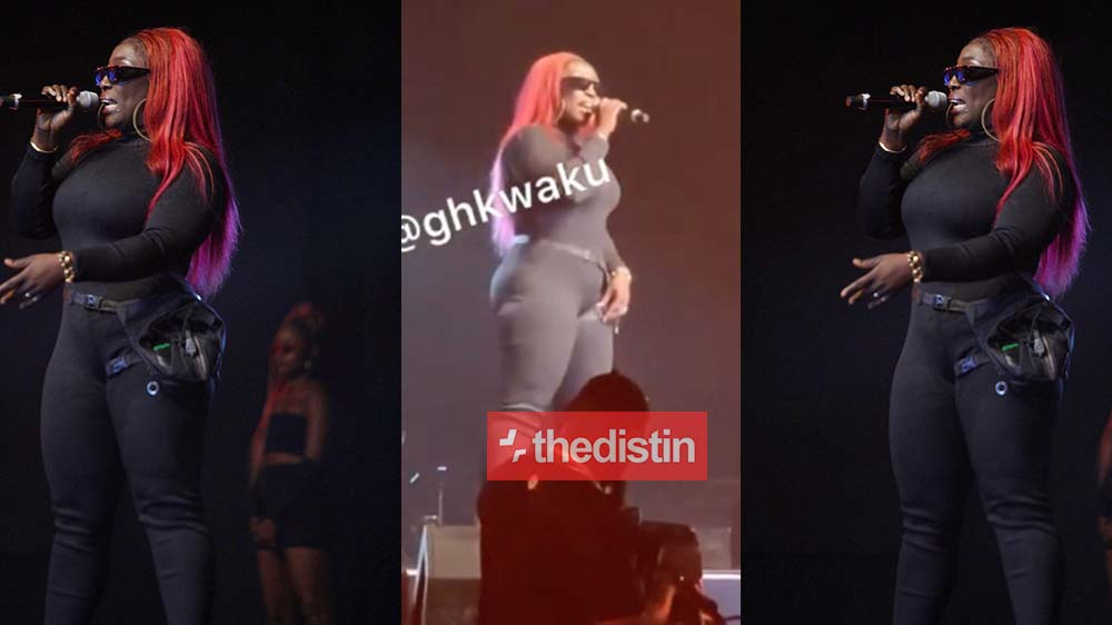"""The Beautiful Moment Eno Barony """"Wowed"""" The VGMA Audience With Her Rap Performance 