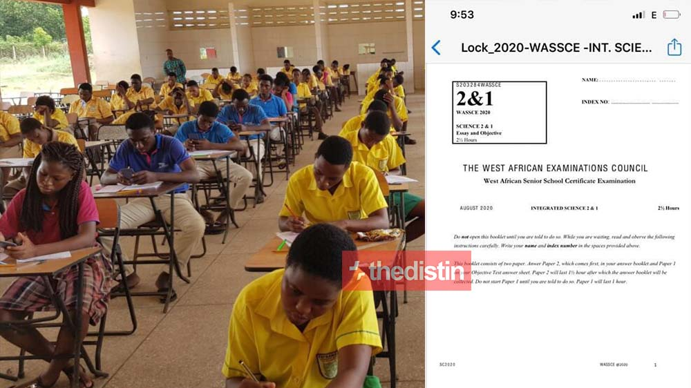 Chaos As WASSCE Integrated Science Paper Reportedly Leaks On Social | Screenshots