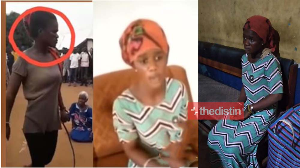 """I was possessed"" Bumaye, Lady Who Lynched Her Grandmother Akua Denteh Confesses In Video"