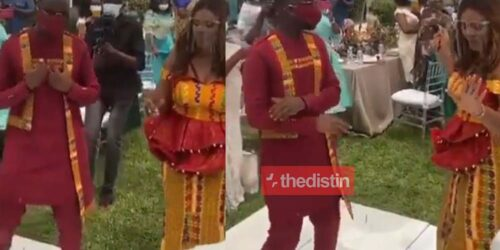 Video: Beautiful Moment Joe Mettle And His Wife Salomey Selasie Dzisa Took Over The Dance Floor | Watch
