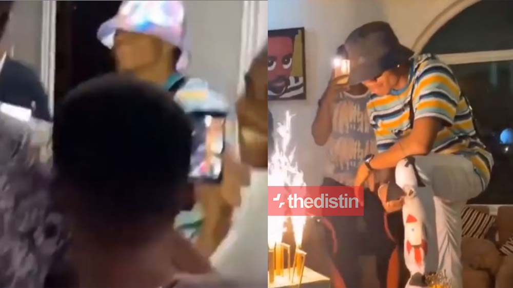 See How Lynx Entertainment Celebrated KiDi On His Birthday With A Surprise Party | Watch Video