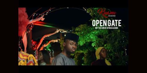"Kuami Eugene Set To Release His First Single ""Open Gate"" Off His ""Son Of Africa"" Album 