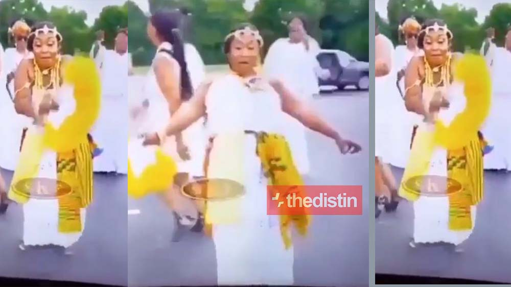 """Video Of Kyeiwaa Trying Burna Boy's """"Gbese"""" Dance Set The Internet On Fire 
