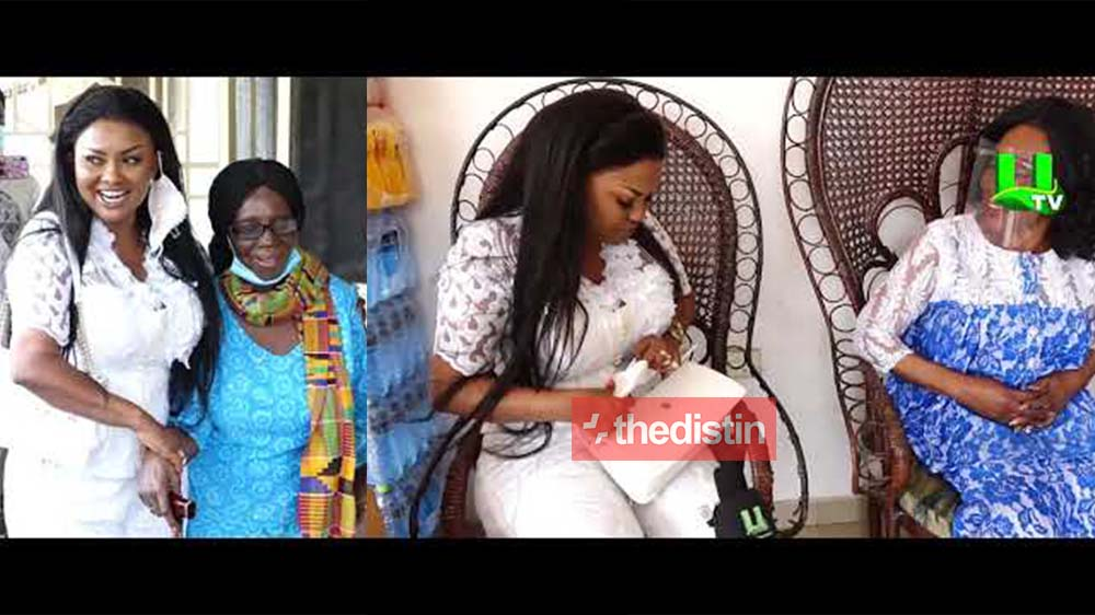 Nana Ama Mcbrown Celebrates Her 43rd Birthday By Donating Items + $2,000 Dollars Each To Grace Nortey And Grace Omaboe | Videos