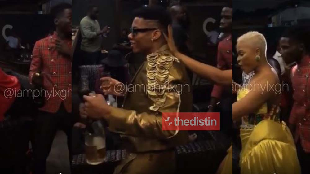 See How Kuami Eugene Celebrate After Winning Artiste Of The Year Award At VGMA 21 | Watch Video