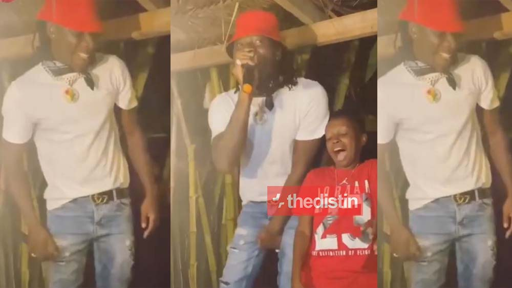 "Video Of Stonebwoy's Private Party Performing ""Putuu"" At Adebayor's House Before He Gave Angel Town A Taste On Ashiaman Life"