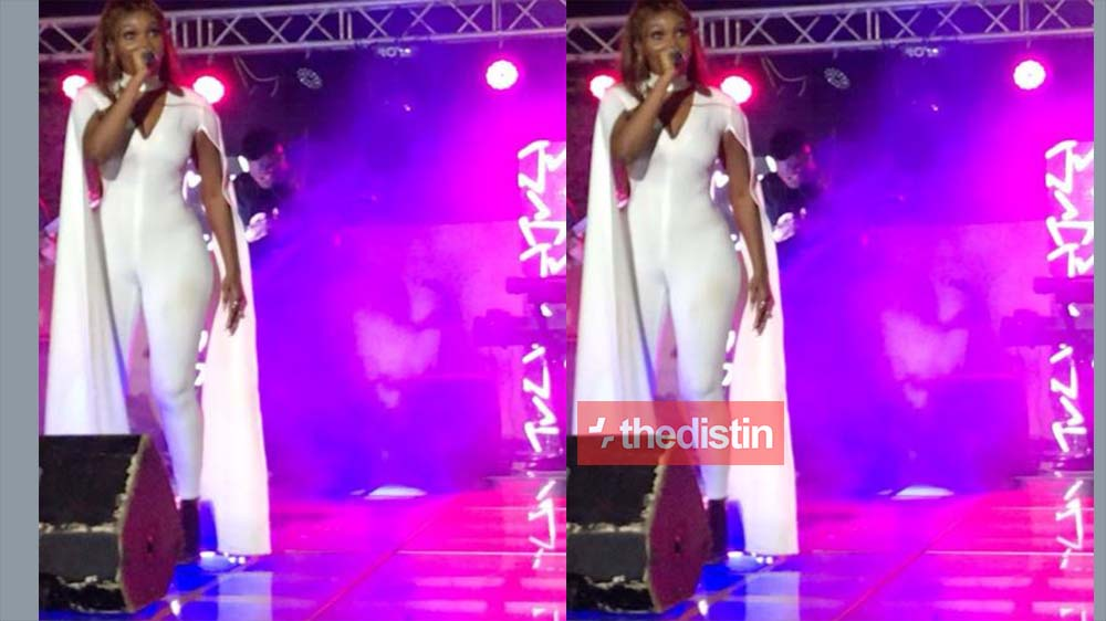 Video: Wendy Shay's Performance At Her Survival Concert Was Awesome | Watch