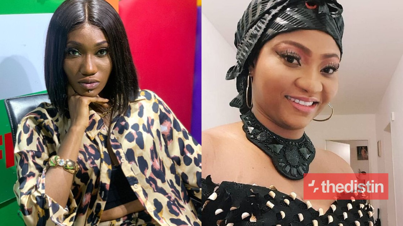 Wendy Shay and her mother Obaapa Kaakyire Addo