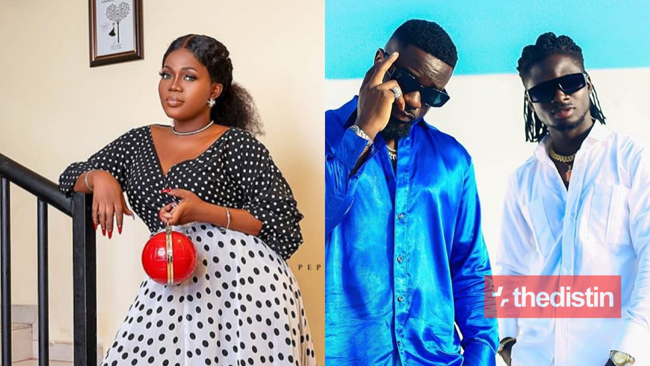 Mzbel and Sarkodie