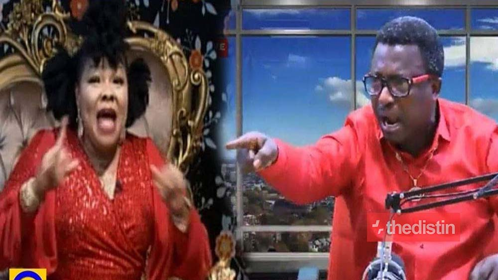 Opambour & Nana Agradaa Insults Each Other 'Basabasa' On As They Clash (Watch Video)