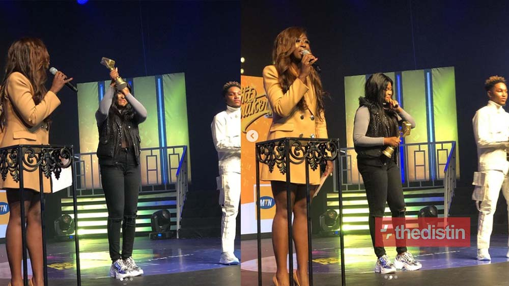 Adepa Wins MTN Hitmaker Season 9, Walks Away With The Grand Prize Of GH¢120,000 Recording Deal (Photos+Video)