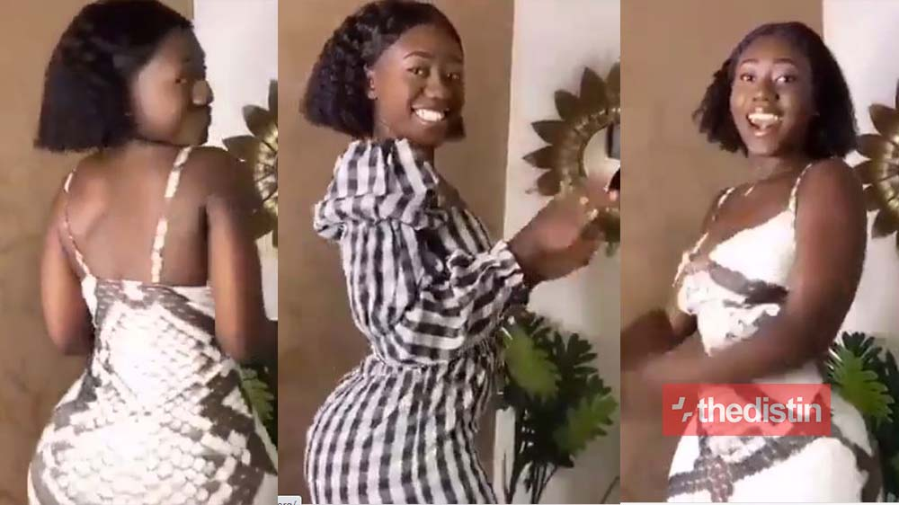 Hajia Bintu Turns Heads On Social Media As She Whines And Dances With Her Curvaceous Body (Video)