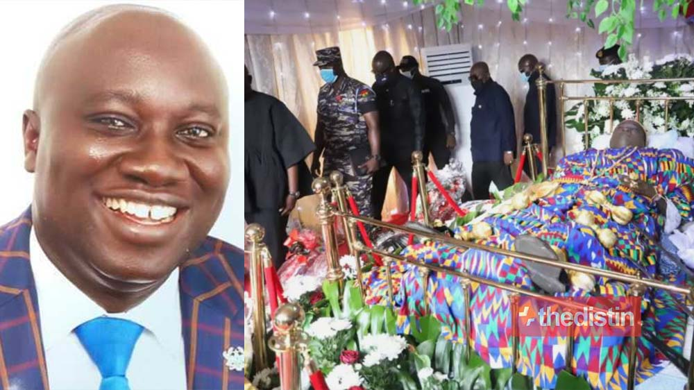 Sad Photos From The Late MP Ekow Hayford's Funeral Surface Online