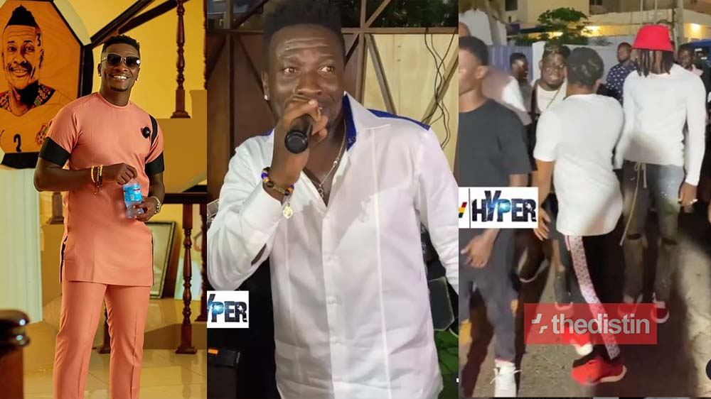 Videos From Asamoah Gyan's 35th Birthday Party With Stonebwoy, Prince Tagoe & Others Drops (Watch)