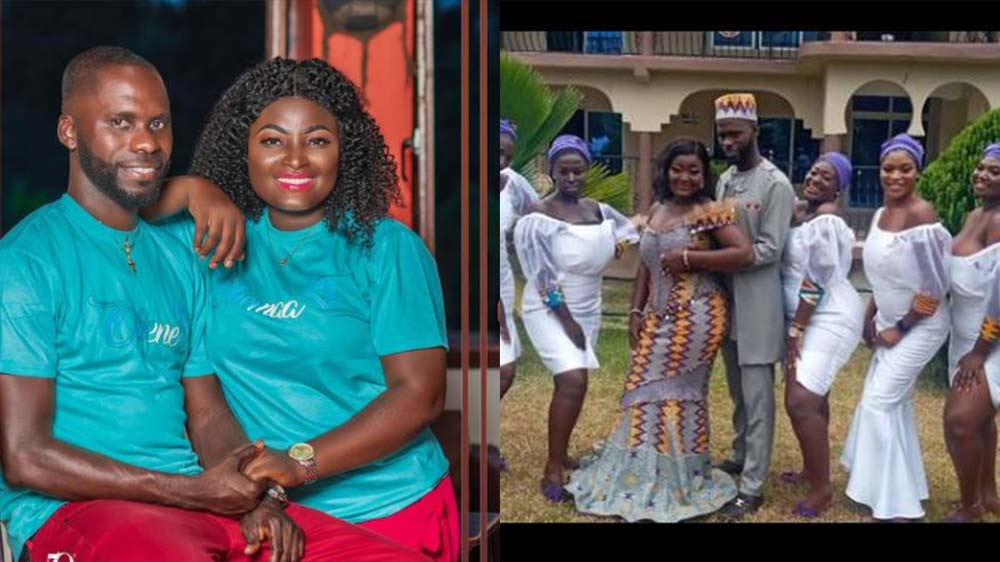 Kumawood actress and movie producer Patricia Osei Boateng and Duku Antwi has gotten married in a traditional wedding ceremony