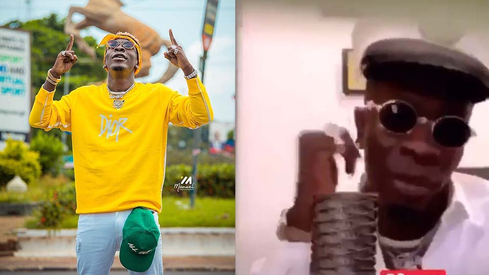 Shatta Wale Drops His 1st Comedy Skit As He 'Breaks Ribs' On Social Media, Top Celebs Reacts (Video)