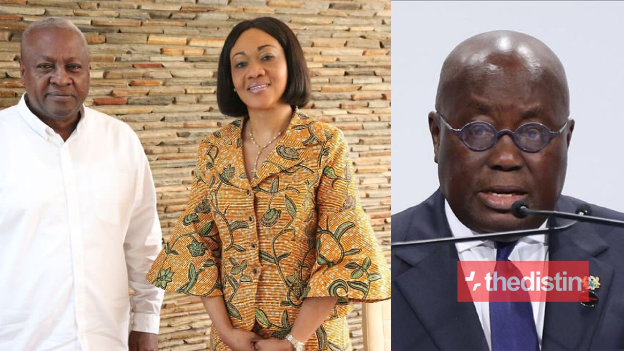 Nana Addo, Ec and John Mahama