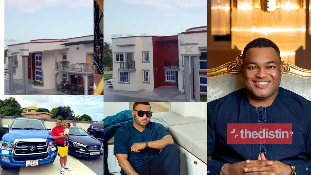 Kwadwo Safo Jnr cars and mansion