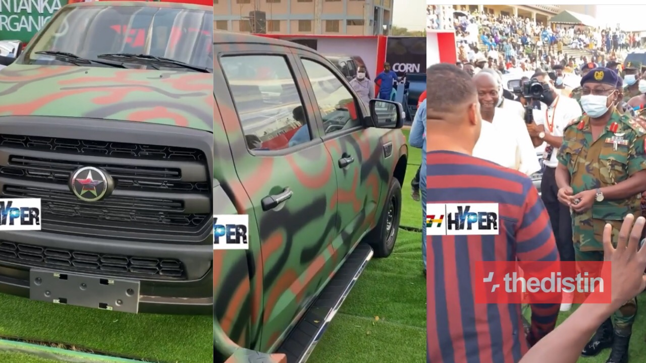 Kwadwo Safo Jnr car to army
