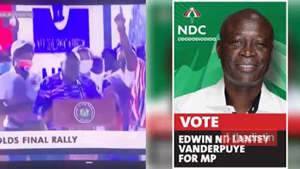 Vote For Nii Lante Vanderpuye - 'Confused' Nana Addo Urges Ghanaians To Vote For NDC Candidate (Video)