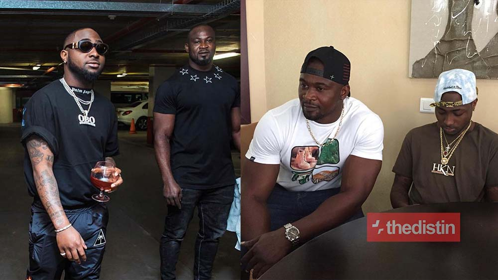 Heartbroken Davido Shares Photos Of His Late Bodyguard Tj