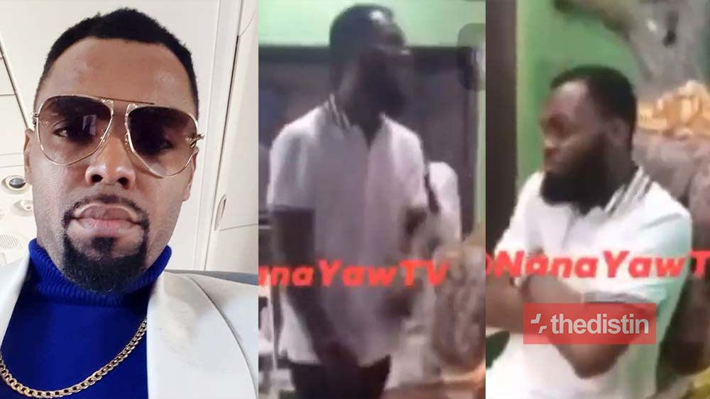 "Video of Rev Obofour Happily Dancing And Jumping As Stonebwoy's ""Putuu"" Song 'Starts Playing' Goes Viral"