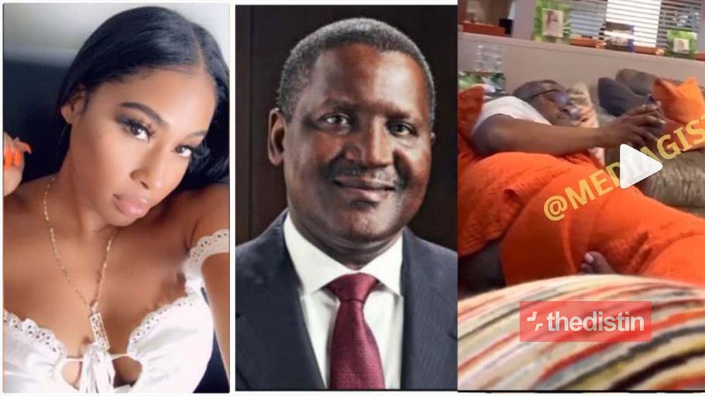 Another Side-chick Of Dangote Pops Up And Shares A Video Of Him With His Nyansh Showing | Watch