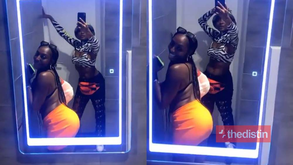Video Of Efya And Her Girl Friend Acting Naughty In A Washroom Goes Viral | Watch