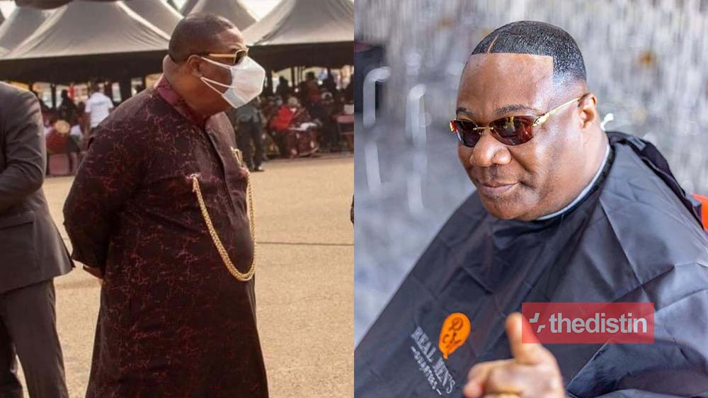 Ghanaians React To A Photo Of Duncan Williams Wearing Double Nose Mask In Public | Screenshot