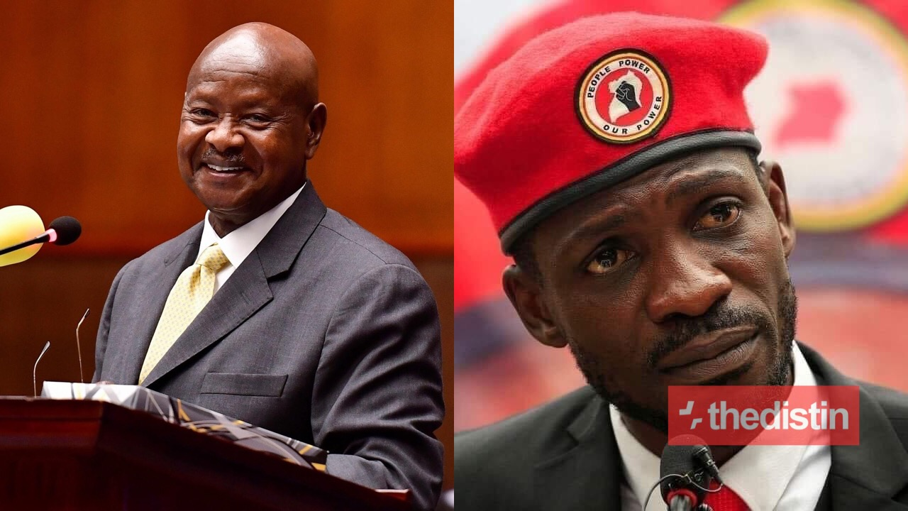 Yoweri Museveni and Bobi Wine