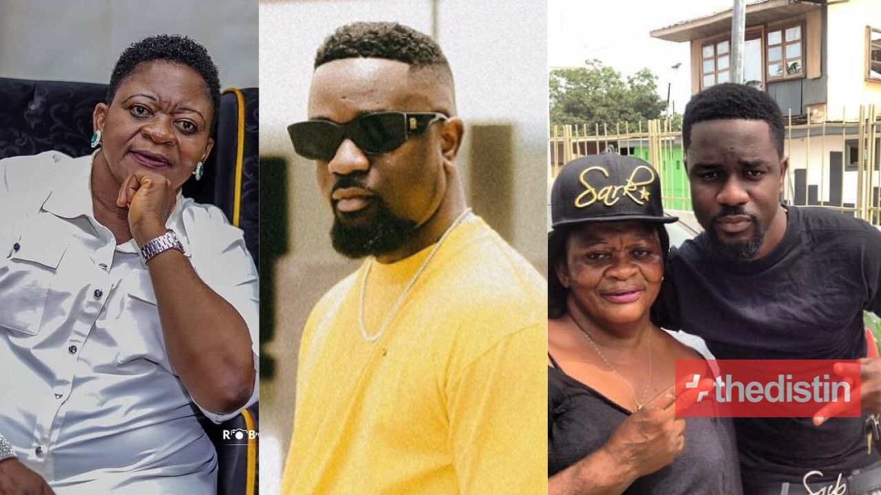 Sarkodie and Mother