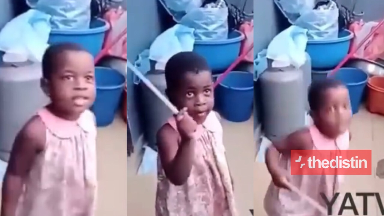 Little girl sings Medikal song