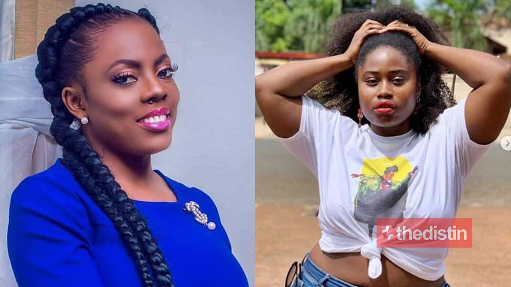 """face me like a woman"" - Nana Aba Anamoah Dares Lydia Forson On Twitter After Shading Her (Photo)"