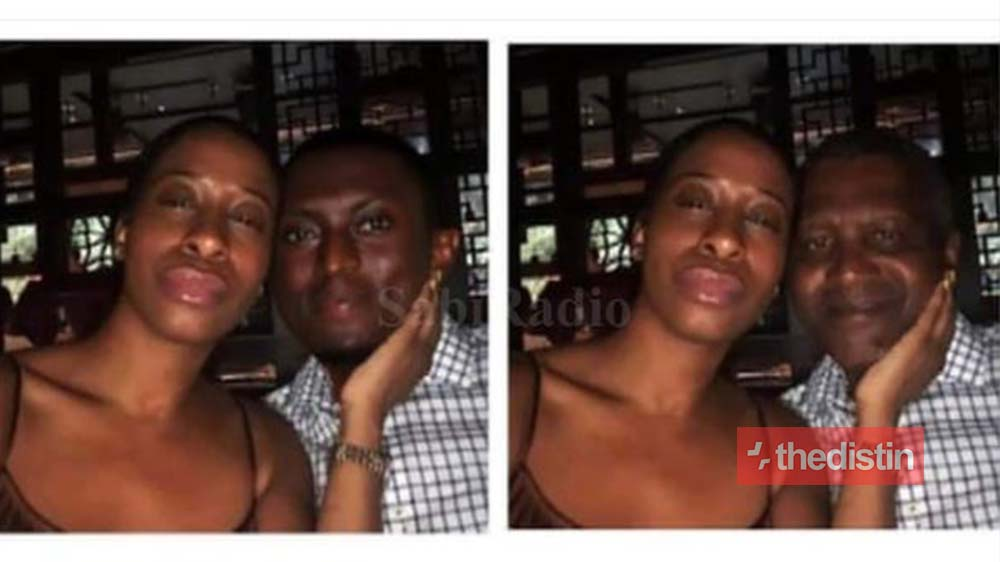 Viral Photo Of Billionaire Dangote And His Side Chick Is A Photoshop, See Original Photo