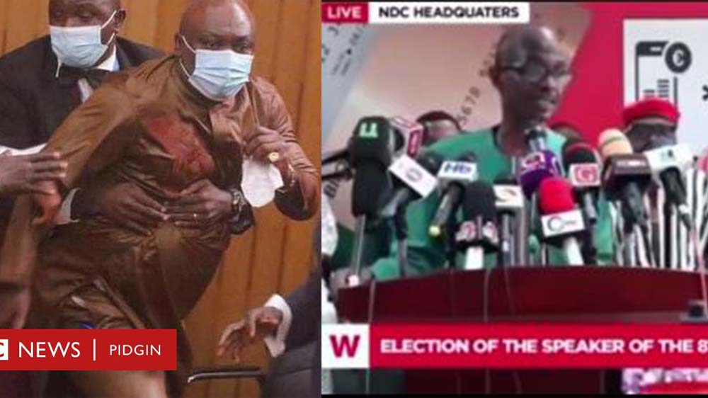 Asiedu Nketia Teases Carlos Ahenkorah For Chewing 2 Ballot Papers (Video)